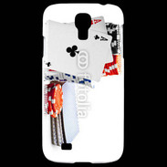Coque Samsung Galaxy S4 Paire d'as au poker 5