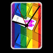 Grande pendule murale Gay keyboard