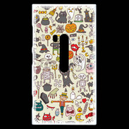 Coque Nokia Lumia 920 Fond Halloween 10