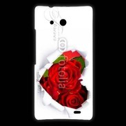 Coque Huawei Ascend Mate Rose forever