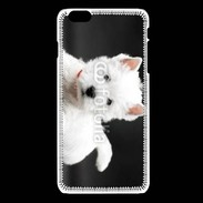 Coque iPhone 6 / 6S Chiot blanc 5