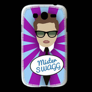 Coque Samsung Galaxy Grand Mister Swag Chatain