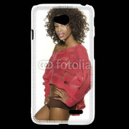 Coque LG L70 Femme africaine glamour et sexy 5
