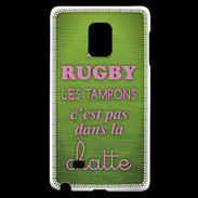 Coque Samsung Galaxy Note Edge Rugby Tampons ZG