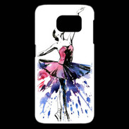 coque galaxy s6 edge danseuse