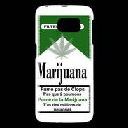coque samsung galaxy s6 cannabis