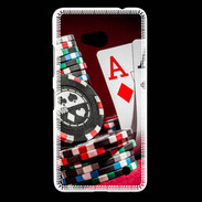 Coque Nokia Lumia 640 LTE Paire d'As au poker