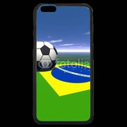 Coque  iPhone 6 Plus Premium Drapeau brésilien football