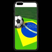 Coque  iPhone 6 Plus Premium Drapeau brésilien football 2