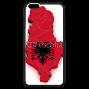 Coque  iPhone 6 Plus Premium drapeau Albanie