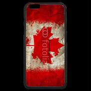 Coque  iPhone 6 Plus Premium Drapeau Canada grunge 510
