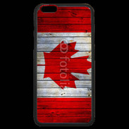 Coque  iPhone 6 Plus Premium Drapeau Canada grunge 500