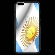 Coque  iPhone 6 Plus Premium Drapeau Argentine 750