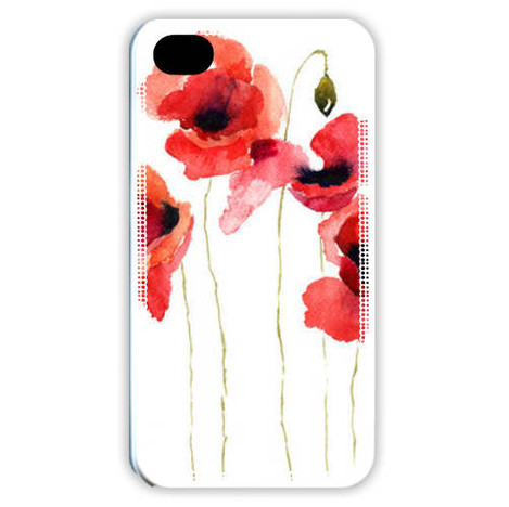 coque iphone 7 coquelicot