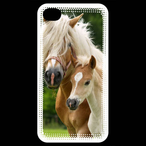 coque iphone 4 cheval
