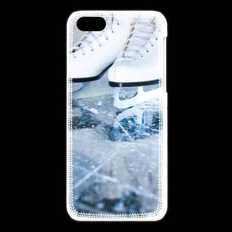 Coque iPhone 5C Patinage artistique