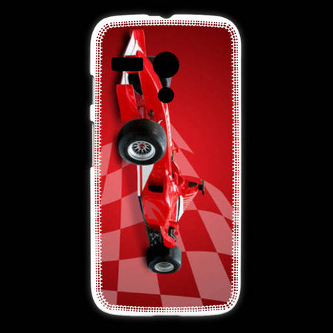 coque motorola g formule 1 sur drapeau. Black Bedroom Furniture Sets. Home Design Ideas