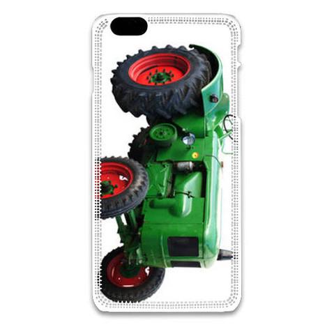 coque iphone 6 tracteur bleu