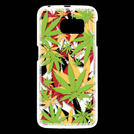 Coque Samsung Galaxy S6 Cannabis 3 couleurs