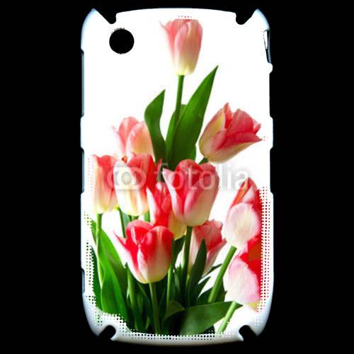 Coque Black Berry 8520 Bouquet de tulipes 4