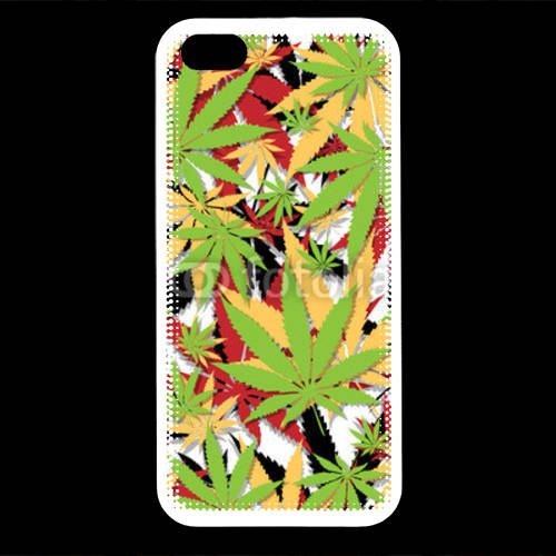 Coque iPhone 5 Cannabis 3 couleurs