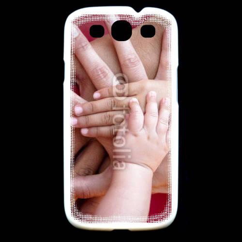 Coque Samsung Galaxy S3 Famille main dans la main
