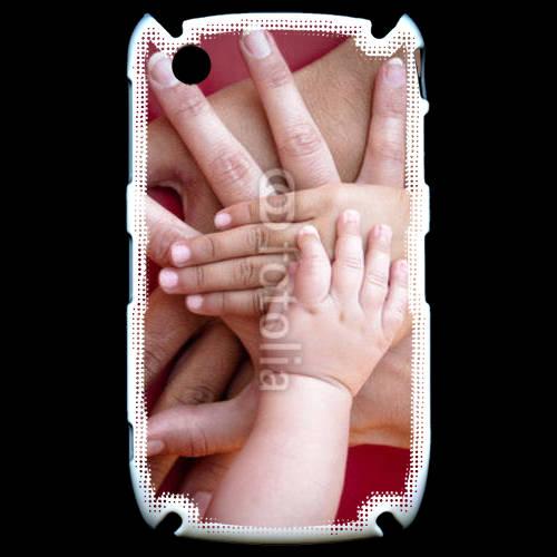Coque Black Berry 8520 Famille main dans la main