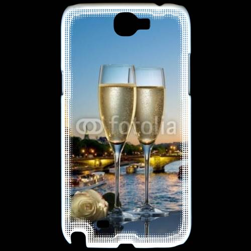 Coque Samsung Galaxy Note 2 Amour au champagne