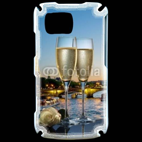 Coque Samsung Player Star 5600 Amour au champagne