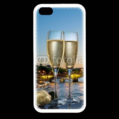 Coque iPhone 5 Amour au champagne