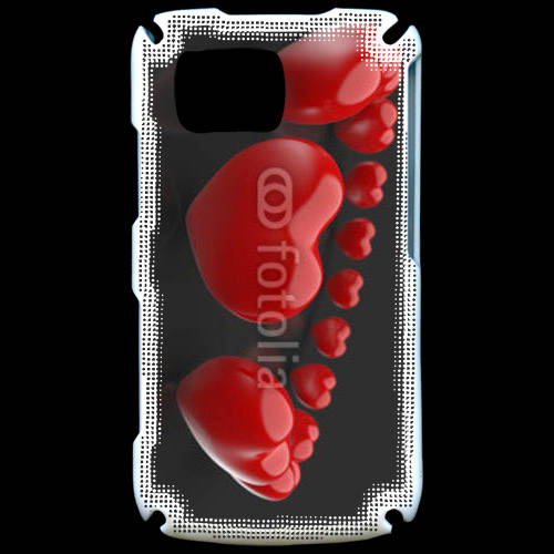 Coque Samsung Player Star 5600 Bracelet de coeur